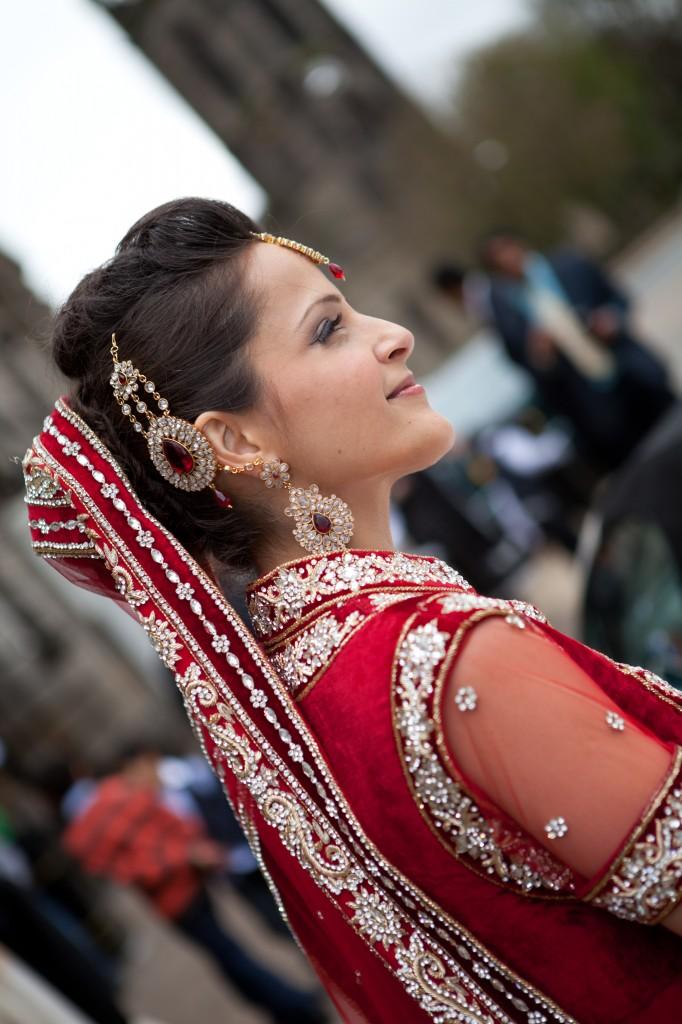 muslim, rukhsati, bride, groom, red,