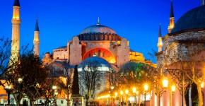 Hagia Sophia, Istanbul, Turkey,